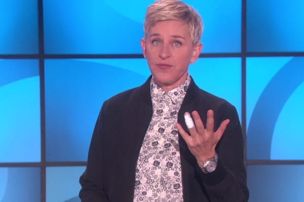 ellen degeneres details wine related accident that sent her to