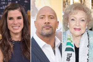 faith-based fan stars sandra bullock dwayne johnson betty white