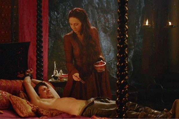 game of thrones sex scenes gendry melisandre