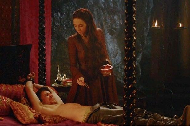 game of thrones sex scenes gendry melisandre