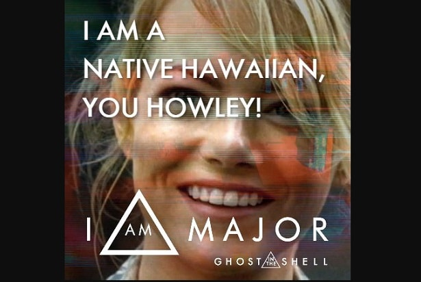 ghost in the shell meme hawaiian native