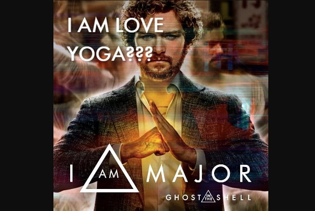ghost in the shell meme i love yoga