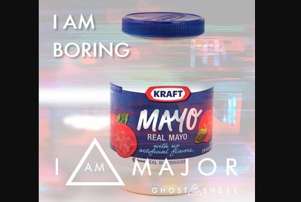 ghost in the shell meme mayo