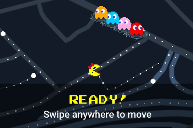 You Can Play 'Ms  Pac-Man' on Any Street on Google Maps Today