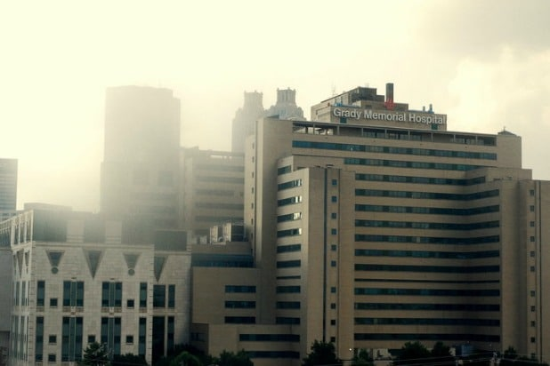 grady memorial hospital walking dead comics beth