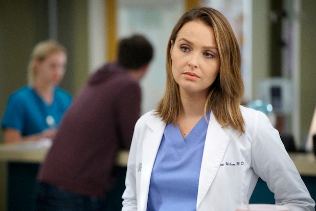 CAMILLA LUDDINGTON greys anatomy