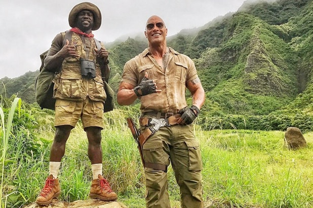 'Jumanji' reboot film title and plot revealed