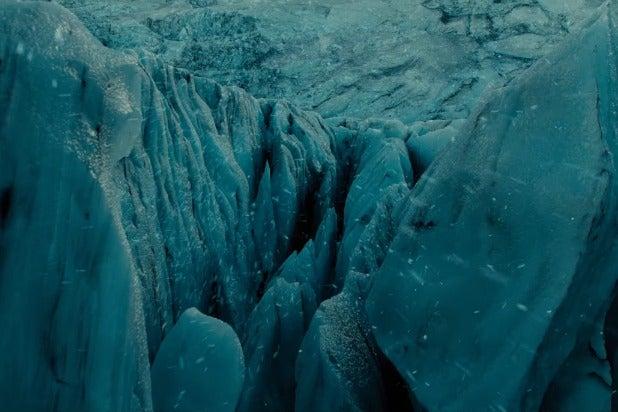 justice league trailer glacier superman