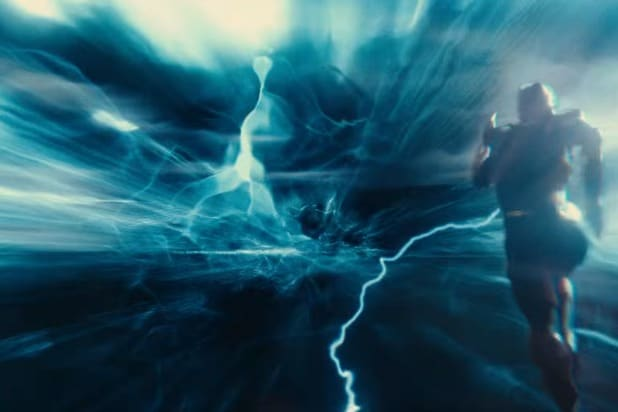 justice league trailer the flash blue lightning whoa