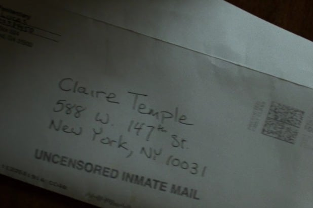 luke cage letter from jail marvel iron fist netflix