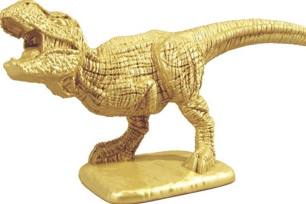 monopoly t rex token