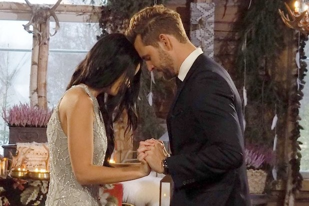 RAVEN gates and NICK VIALL the Bachelor