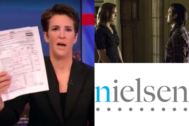 nielsen ratings rachel maddow this is us nbcuni