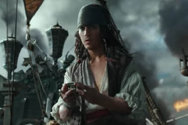 Pirates pirate Pirates of the Caribbean 5 and demand ransom from Disney
