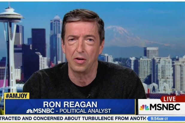 Ron Reagan Calls Ivanka Trump Donald's 'Security Blanket' (Video)
