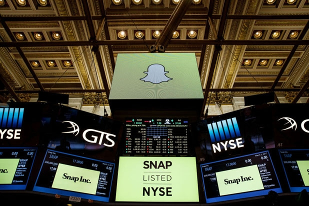 Snap (NYSE:SNAP) Given Daily News Impact Rating of 0.12
