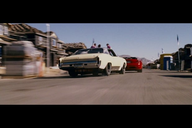 1971 Chevrolet Monte Carlo 2 fast roman demolition derby