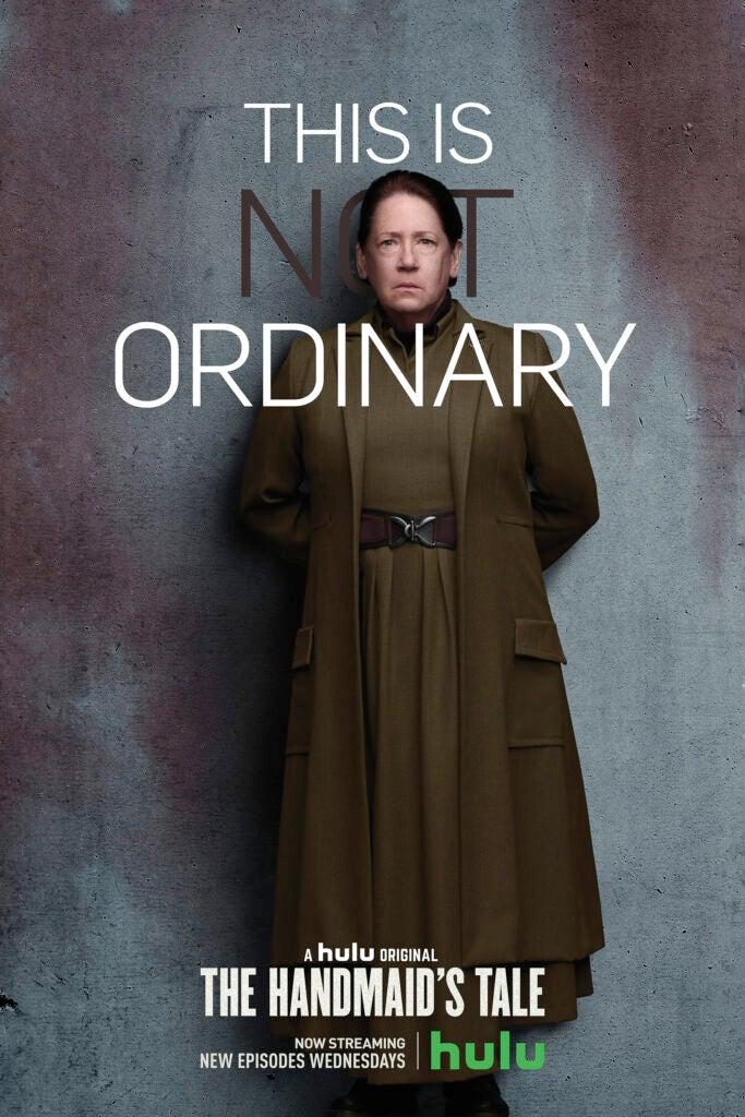 Ann Dowd - Aunt Lydia Handmaid's Tale