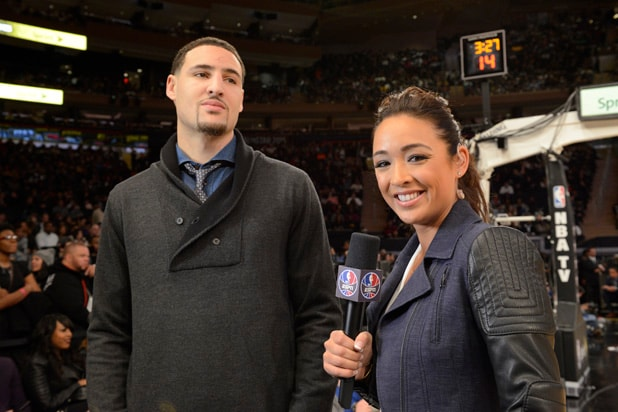 Cassidy Hubbarth Klay Thompson