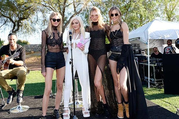 Hollywood Hits Coachella 2017 Odell Beckham Jr Alessandra