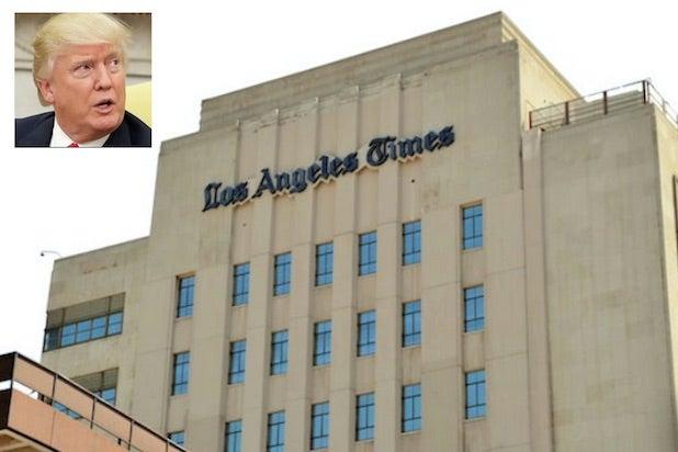 Donald Trump LA Times