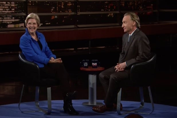 Elizabeth Warren Bill Maher
