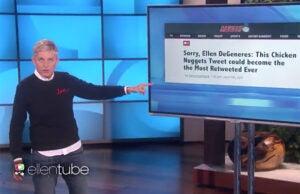 Ellen DeGeneres Wendys
