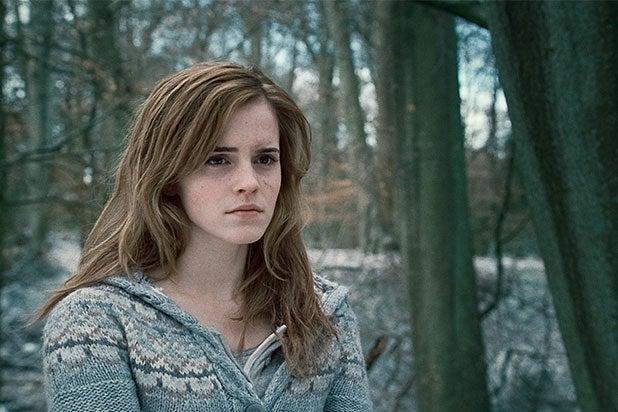 Emma Watson Deathly Hallows