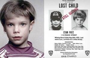 Etan Patz Missing Poster