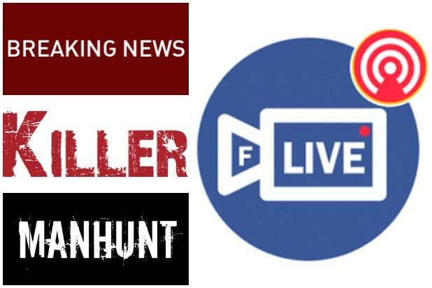 Facebook Live Manhunt