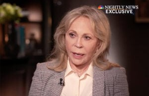 Faye Dunaway Nightly News