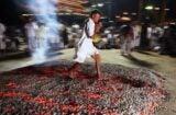 Thailand Vegetarian Festival in Phuket hot coals walk bill nye