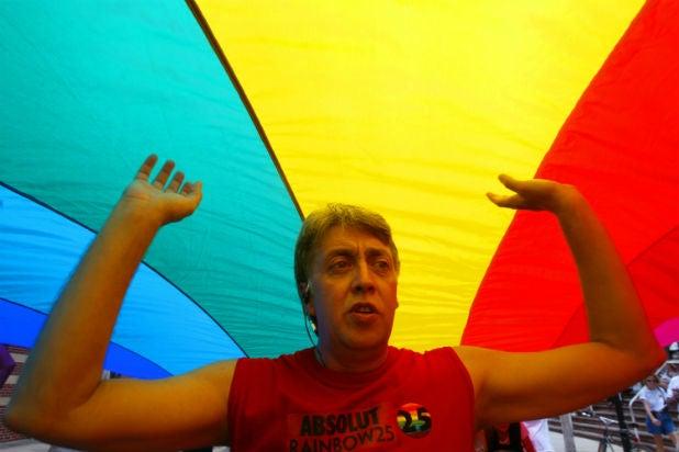 Gilbert Baker Rainbow Flag