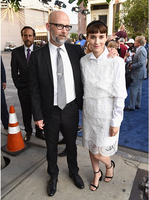 Moby and Rooney Mara