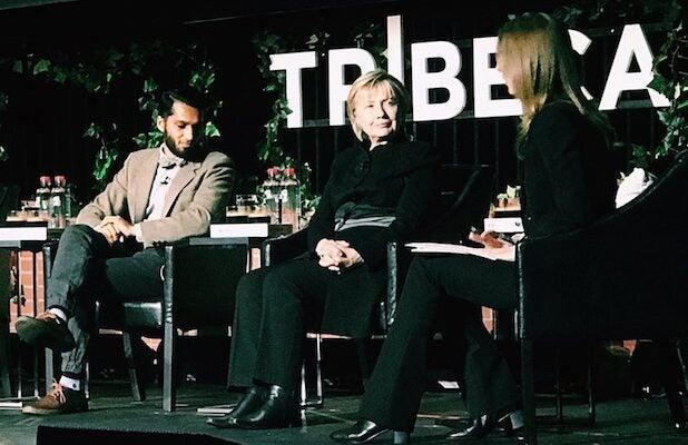 Hillary Clinton Kathryn Bigelow Tribeca