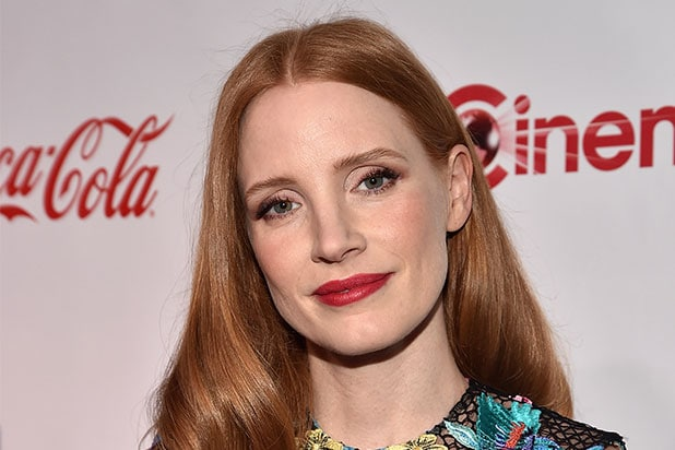 Jessica Chastain NRA
