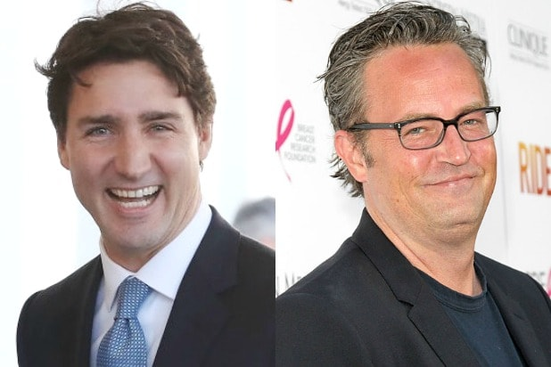 Justin Trudeau Matthew Perry