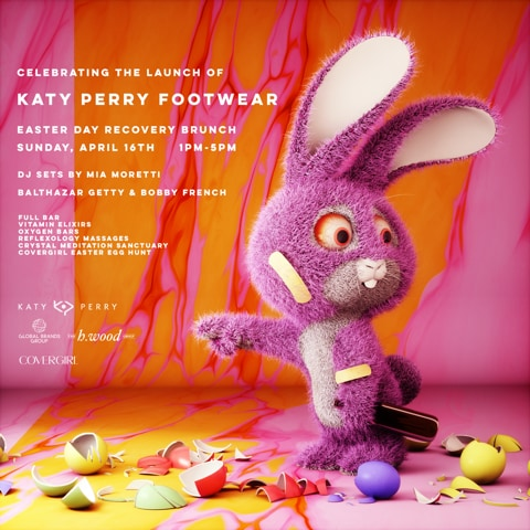 Katy Perry Easter Brunch