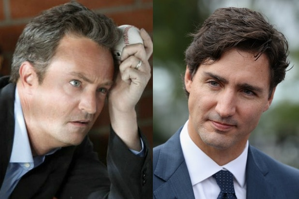 Matthew Perry Justin Trudeau
