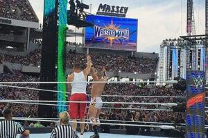 Mojo and Gronk WrestleMania 2