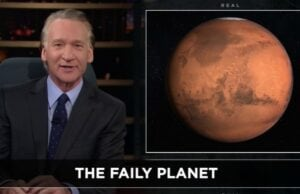 Real Time Bill Maher Mars HBO