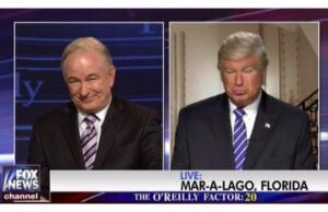 SNL Saturday night live alec baldwin donald trump bill o'reilly sexual harassment timeline