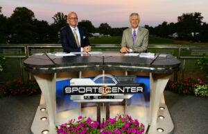 Scott Van Pelt and Andy North