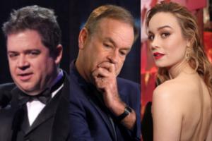 Bill O'Reilly, Brie Larson, Patton Oswalt