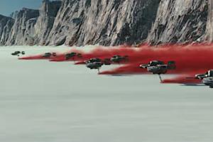 Star wars the last jedi crait planet