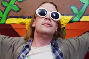 Macaulay Culkin Kurt Cobain