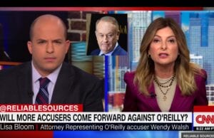 Brian Stelter Bill O'Reilly Lisa Bloom investigate fox news sexual harassment timeline