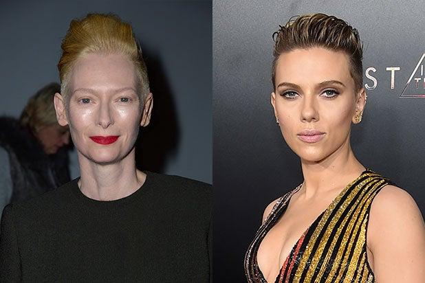 Tilda Swinton Scarlett Johansson Whitewashing
