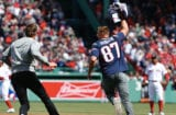 Tom Brady and Gronk at Fenway