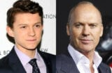 Tom Holland Michael Keaton Spider-Man Batman